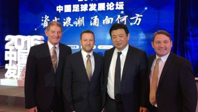 IPSO Invited to Beijing football conference China