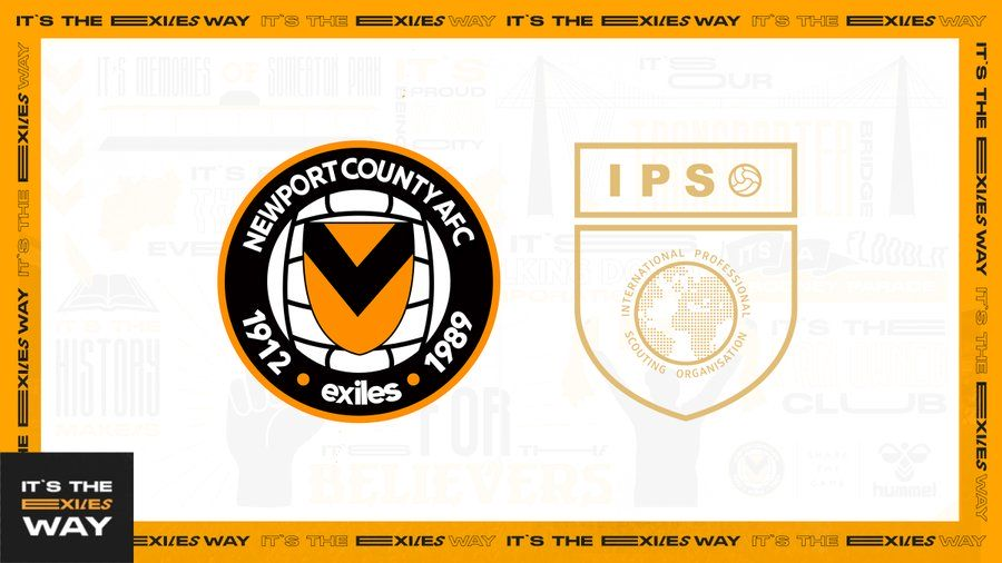 Newport County AFC announce partnership with IPSO Football Scouting